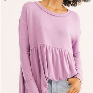 NWT Free People Forever Your Girl Tunic T-…